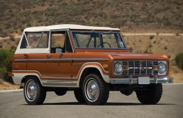 ford bronco 1975 wheel & tire sizes, pcd, offset and