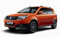 Geely MK Cross Hatchback