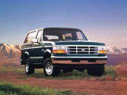 Ford Bronco I V Closed Off-Road Vehicle
