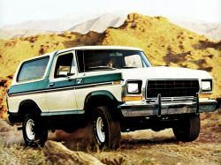Ford Bronco I II Closed Off-Road Vehicle
