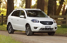 Renault Koleos I Restyling Closed Off-Road Vehicle