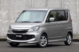 Suzuki Solio Bandit III MPV