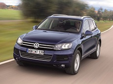 Volkswagen Touareg 7P5 Closed Off-Road Vehicle