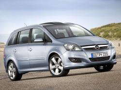 Opel Zafira B MPV