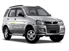 Perodua Kembara J1 Closed Off-Road Vehicle