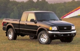 Ford Ranger II Facelift Pickup