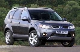 Mitsubishi Outlander II Closed Off-Road Vehicle