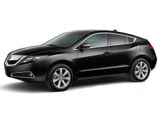 Acura ZDX wheels and tires specs icon