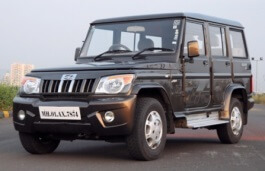 Mahindra Bolero wheels and tires specs icon