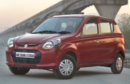 Maruti Alto 800 wheels and tires specs icon