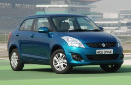 Maruti DZire wheels and tires specs icon