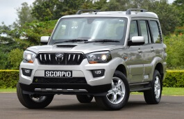 Mahindra Scorpio wheels and tires specs icon