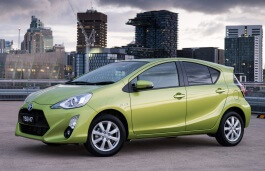 Toyota Prius c wheels and tires specs icon