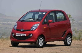 Tata GenX Nano wheels and tires specs icon