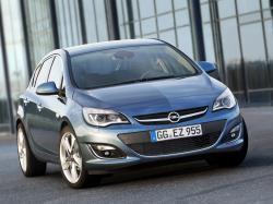 Opel Astra J Facelift Hatchback