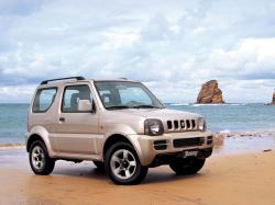 Suzuki Jimny III Restyling Closed Off-Road Vehicle