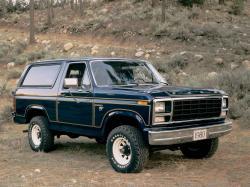 Ford Bronco I III Closed Off-Road Vehicle