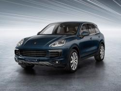 Porsche Cayenne II Restyling Closed Off-Road Vehicle