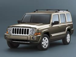 Jeep Commander XK Closed Off-Road Vehicle