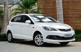 opony do Chery Celer Restyling [2015 .. 2020] [LADM] Hatchback, 5d