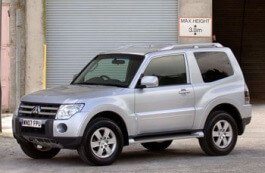 Mitsubishi Shogun IV Closed Off-Road Vehicle