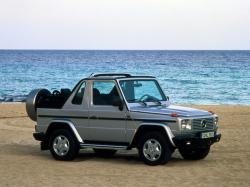 Mercedes-Benz G-Class II Open Off-Road Vehicle