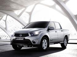 SsangYong Actyon Sports wheels and tires specs icon