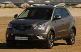 SsangYong Korando III Open Off-Road Vehicle