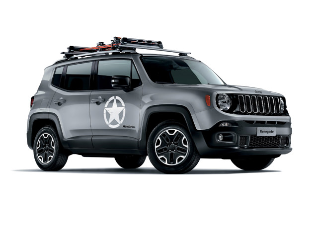 Jeep Renegade BU Closed Off-Road Vehicle