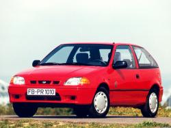 Subaru Justy II Hatchback