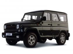 UAZ Hunter Closed Off-Road Vehicle