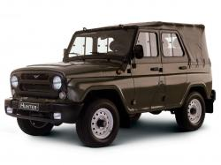UAZ Hunter Open Off-Road Vehicle