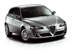 Alfa Romeo 147 wheels and tires specs icon