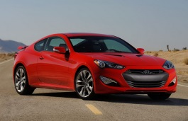 Hyundai Genesis Coupe Restyling Coupe