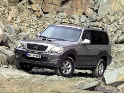 Hyundai Terracan HP (HP) Closed Off-Road Vehicle