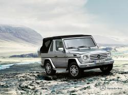 Mercedes-Benz G-Class II Restyling Open Off-Road Vehicle