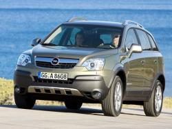 Opel Antara wheels and tires specs icon