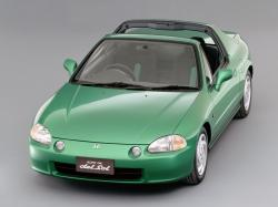 Honda CR-X del Sol wheels and tires specs icon