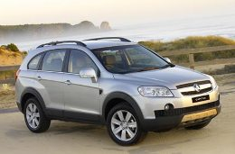 Holden Captiva 7 wheels and tires specs icon