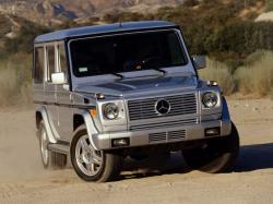 Mercedes-Benz G-Class II Closed Off-Road Vehicle