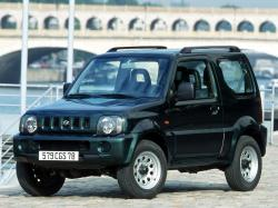 Suzuki Jimny III Closed Off-Road Vehicle