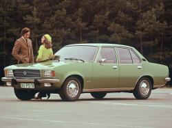 Opel Rekord D Saloon