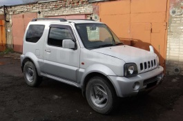 opony do Suzuki Jimny Sierra III [2002 .. 2012] Closed Off-Road Vehicle, 3d