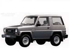 Daihatsu Rocky F78 Closed Off-Road Vehicle