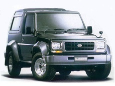 Daihatsu Rugger F78 Closed Off-Road Vehicle
