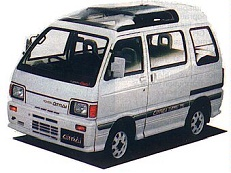 Daihatsu Atrai wheels and tires specs icon