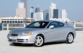 Hyundai Tiburon wheels and tires specs icon