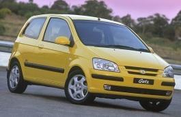 opony do Hyundai Click I [2002 .. 2005] [SKDM] Hatchback, 3d