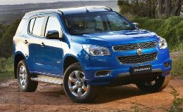 Holden Colorado II (RG) Closed Off-Road Vehicle