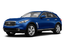 Infiniti QX70 S51 Closed Off-Road Vehicle